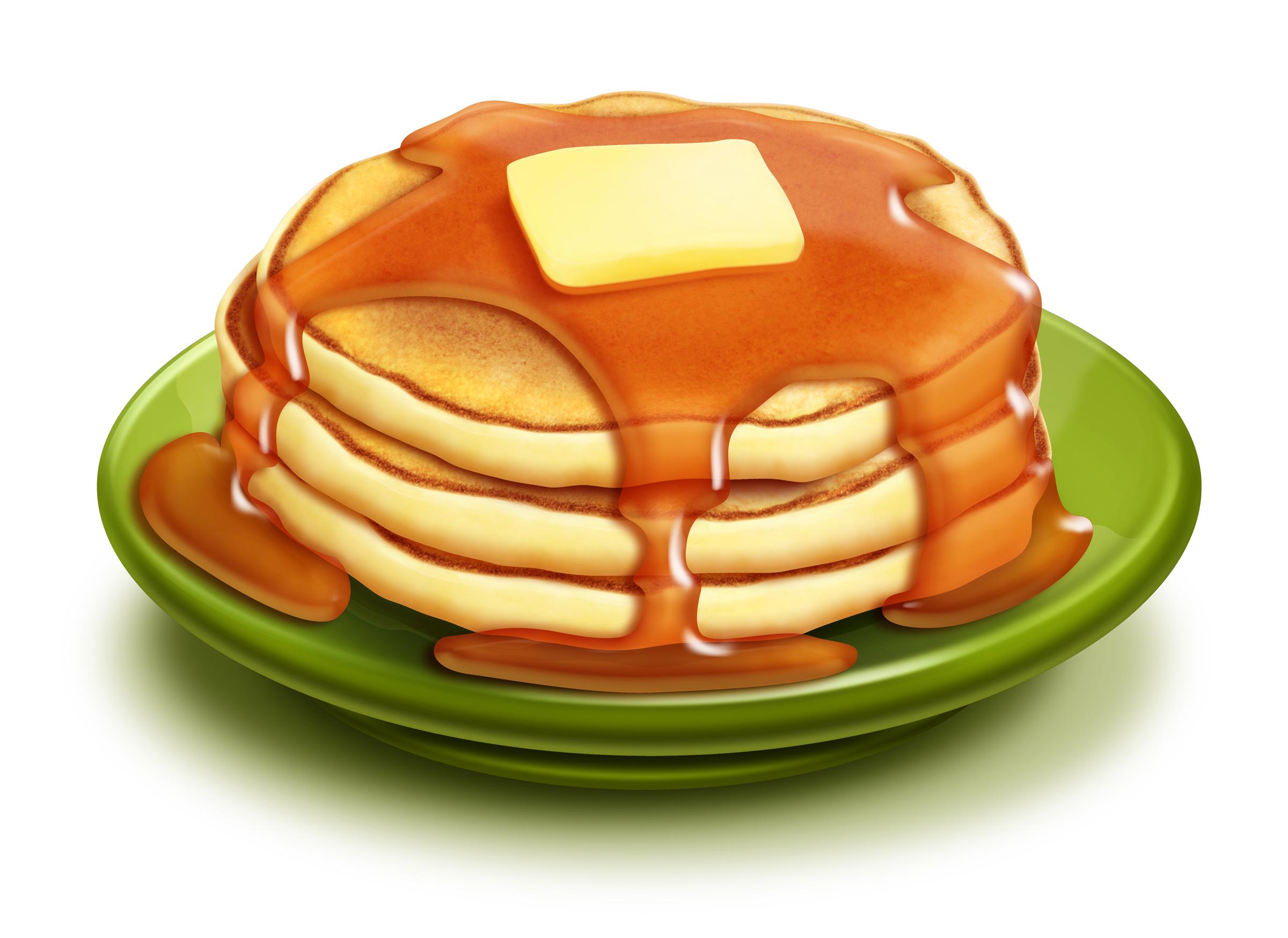 Yum, pancakes!