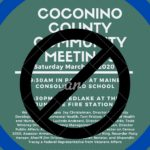 Community Meeting CANCELLED @ Maine School in Parks, AZ