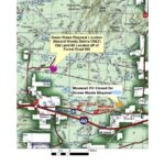 Map to Green Waste Site
